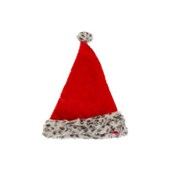 Cosy @ Home Noel Sapin Leopard Rouge D9 30x4xh45cm T
