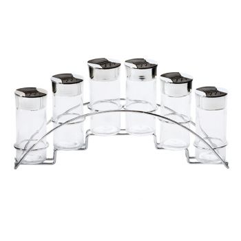 Cosy & Trendy Pot Epices Set 34x7,5xh15cm