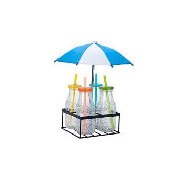 Cosy & Trendy Support 4 Boutteiles Avec Paraplu