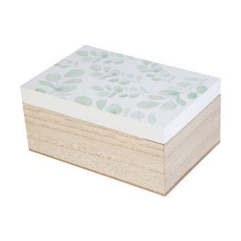 Cosy @ Home Boite Eucalyptus White Naturel 18x12xh8,