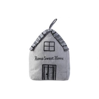 Cosy @ Home Arret De Porte Home Sweet Home Gris 16x1
