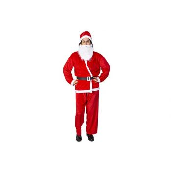 Cosy @ Home Costume Pere Noel 5pcs Large Rouge Texti