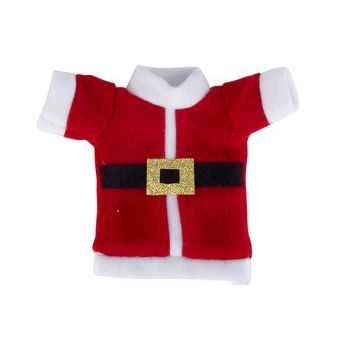 Cosy @ Home Sachet Couverts Santa Costume Rouge Blan
