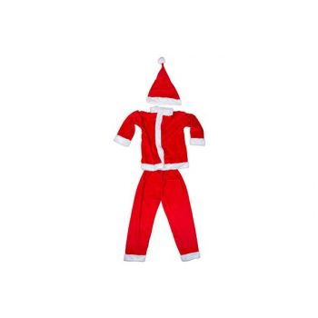 Cosy @ Home Costume Pere Noel Boys 3pcs 6-8y Rouge T
