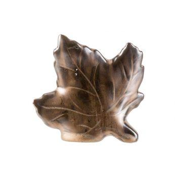Cosy @ Home Feuille Brun 10x3xh9cm Ceramique