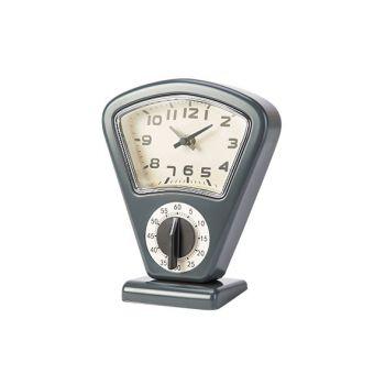 Cosy & Trendy Timer Et Horloge Gris 17,5x10xh21cm