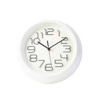 Cosy & Trendy Horloge Blanc D26xh5,3cm Rond