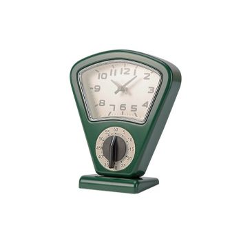 Cosy & Trendy Timer Et Horloge Vert 17,5x10xh21cm