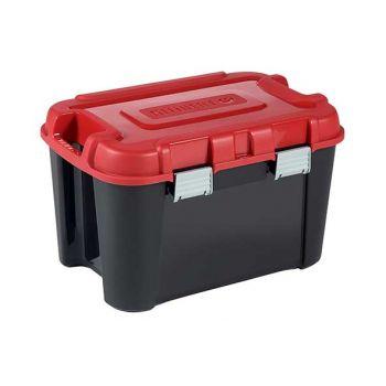 Keter Totem Box 60l Noir-rouge 59x39.5xh36cm