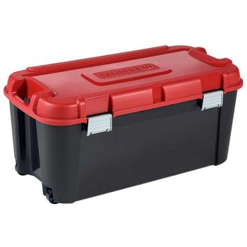 Keter Totem Box 80l Noir-rouge 79.5x39.5xh37.1