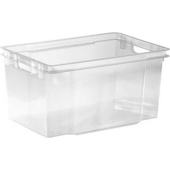 Keter Crownest Box 50l Transparant 58.7x39x30c