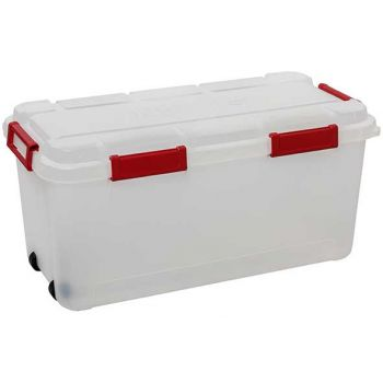Keter Outback Box 80l Transparent-rouge 78.9