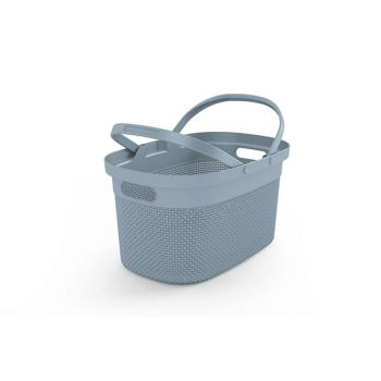 Kis Filo Panier Provisions Misty Blue 45,5x