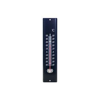 Cosy & Trendy Thermometre Metal 29.5x7cm Noir
