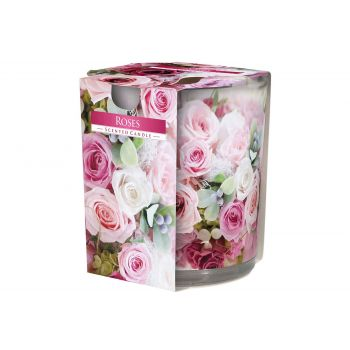 Cosy & Trendy Ct Bougie Parfum Verre Roses-rose 22hrs
