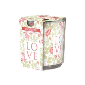 Cosy & Trendy Ct Bougie Parfum Verre Love Letter 22hrs