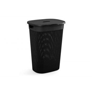 Kis Filo Box A Linge Noir 55l 44x35xh61cm