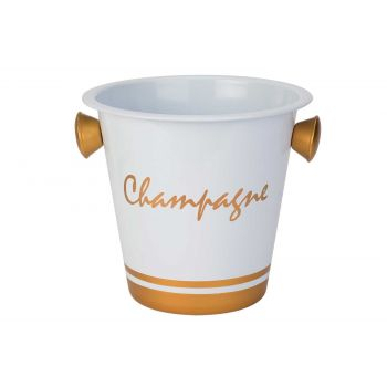 Cosy & Trendy Seau Champagne Blanc-champagne Points Or