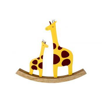 Cosy @ Home Balancoire Giraffe  Jaune 22x2xh20cm Boi