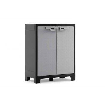 Keter Titan Armoire Bas  Noir-gris 80x44x100cm
