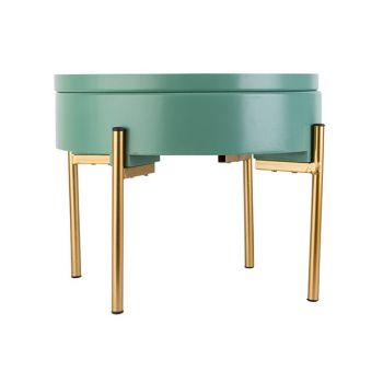 Cosy @ Home Table D'appoint With Lid Mint 38x38xh31c
