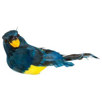 Cosy @ Home Perroquet Clip Bleu 18x9xh10cm Plastic