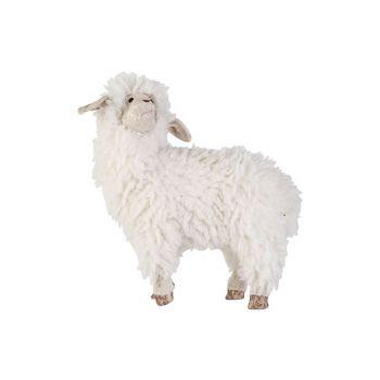 Cosy @ Home Mouton Wool Blanc 34x17xh35cm Foam