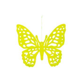 Cosy @ Home Papillon Hanger Vert 25xh22cm Bois
