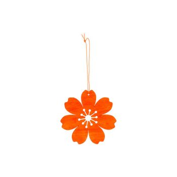 Cosy @ Home Fleur Hanger Orange D12cm Bois