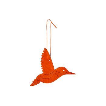 Cosy @ Home Colibri Hanger Orange 14xh10cm Bois