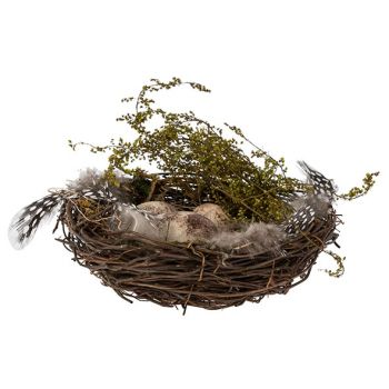 Cosy @ Home Nid Eggs Naturel 15x15xh5cm