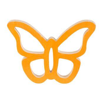 Cosy @ Home Papillon Hanger Orange 14x11xh2cm Bois