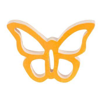 Cosy @ Home Papillon Hanger Orange 10x7xh2cm Bois
