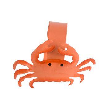 Cosy @ Home Anneau De Serviette Crab Orange D4cm Met