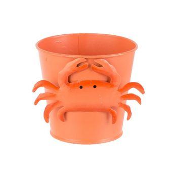 Cosy @ Home Seau Crab Orange D7xh12cm Metal