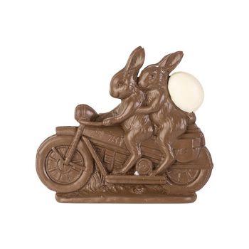Cosy @ Home Lievre De Paques On Bike Chocolat 21,5x4