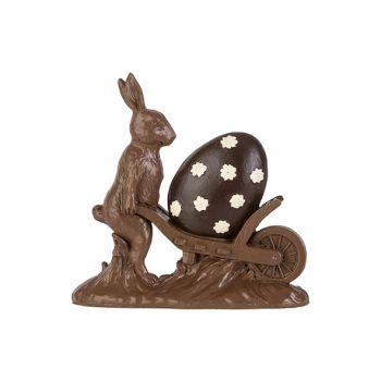 Cosy @ Home Lievre De Paques Cart Chocolat 18,8x5,3x