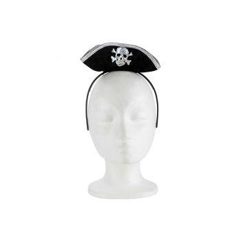 Cosy @ Home Diademe Avec Chapeau Pirates Noir