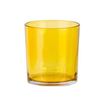 Cosy @ Home Bougeoir Spring Jaune D7xh8cm Verre