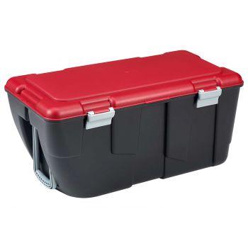 Keter Discover Box 80l Noir-rouge 80.5x43x38cm