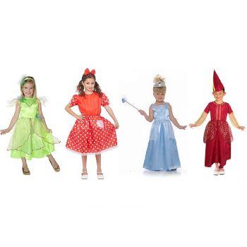Goodmark Carnaval Costume Fille 4 Types T 110-146