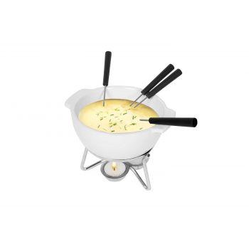 Boska Set Fondue Fromage Party Blanc 0,75l 18x