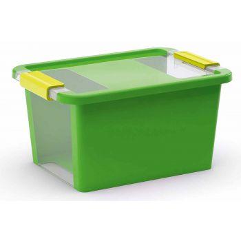 Kis Bi-box Box De Rangement S Vert 11l 36,5x