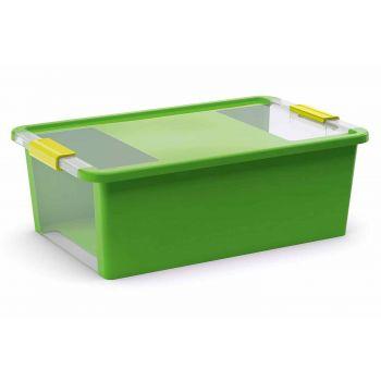 Kis Bi-box Box De Rangement M Vert 26l 55x35