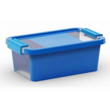 Kis Bi-box Box De Rangement Xs Bleu 3l 26,5x