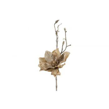Cosy @ Home Branche Magnolia Taupe 13x10xh36cm Plast