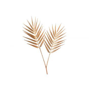 Cosy @ Home Branche Palm Glitter Rouille 25x,6xh40cm