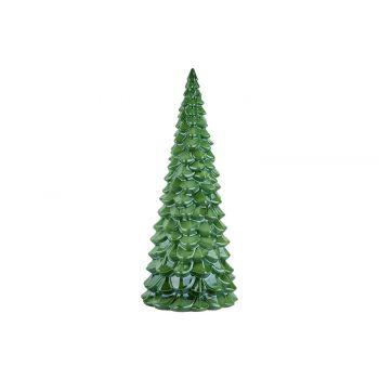 Cosy @ Home Arbre De NoËl Glazed Vert 24x24xh50cm Ro