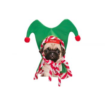Cosy @ Home Bonnet Elf For Dogs Rouge Vert 35x2xh35c