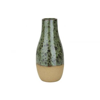 Cosy @ Home Vase Vert 13x13xh28cm Rond Ceramique